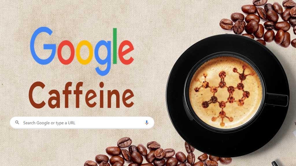 الگوریتم کافئین گوگل